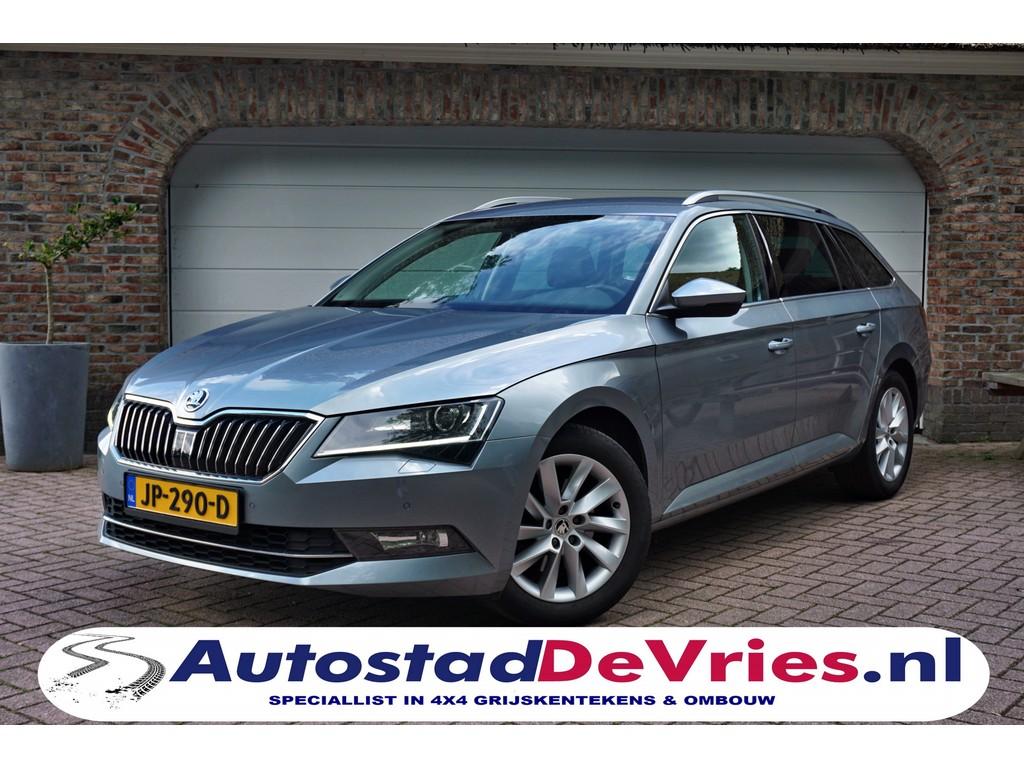 Škoda-Superb-Combi 1.4 TSI 150 DSG VOL OPTIES! + LEER+ XENON+ ACT Style Business-OrangeFinancialLease.nl